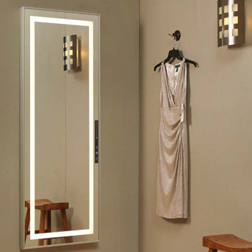 Full length mirror with led lights