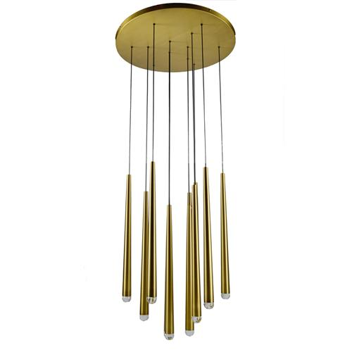 Multi light LED linear pendant