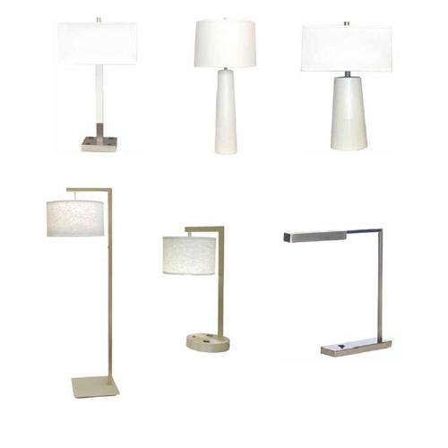 Hotel lamps with usb