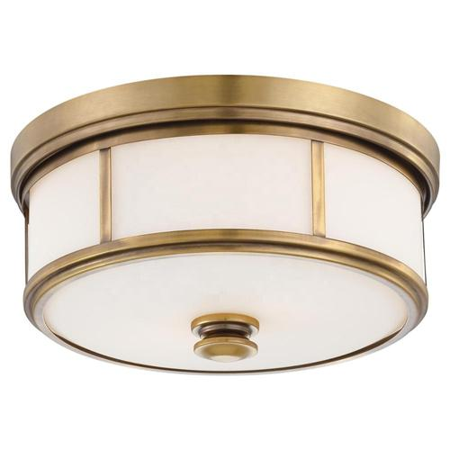Brass flush mount light