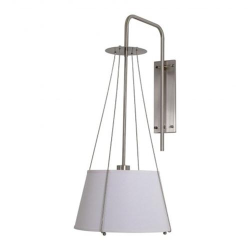Hanging pendant wall sconce